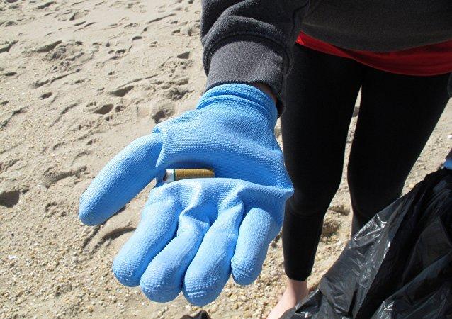 煙頭佔歐洲海岸塑料廢物的21%
