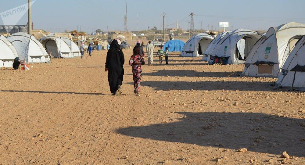 美國軍方:伊斯蘭國武裝分子在難民營藏身
