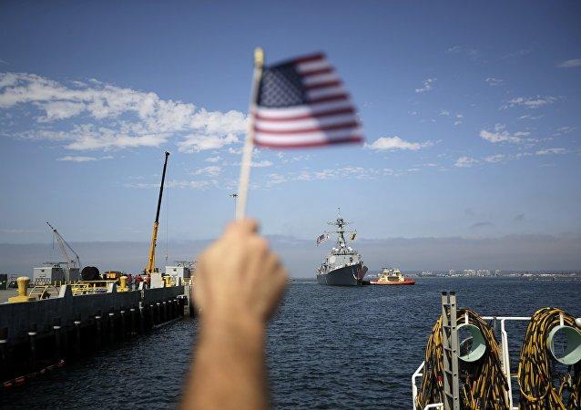 美國海軍高速多用途登陸艇進入黑海
