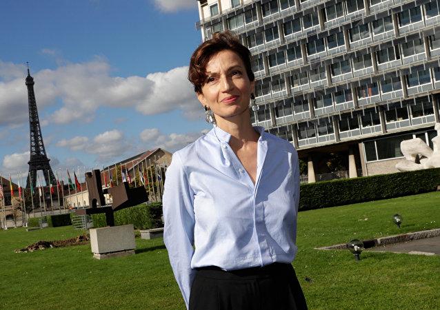 法國文化部前任文化部長奧黛麗∙阿祖萊被選為聯合國教科文組織總幹事