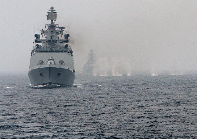 俄太平洋艦隊潛艇演習期間在日本海攻擊假想敵