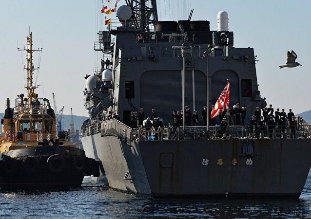日本海上自衛隊軍艦,符拉迪沃斯托克(資料圖片)