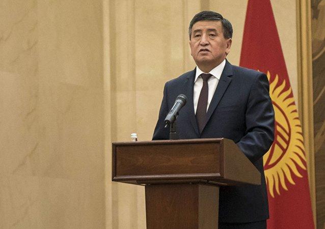 吉爾吉斯斯坦總統索隆拜·熱恩別科夫