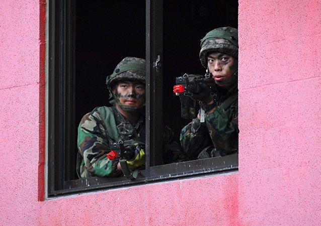 韓國國防部:後備部隊演習因病毒蔓延推遲至4月舉行