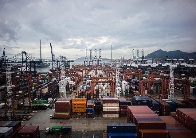 港口貨運量