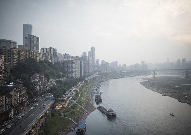 重慶將現水平摩天大樓