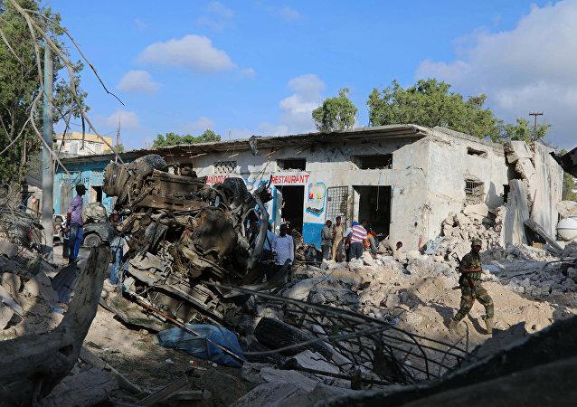 索馬里空襲