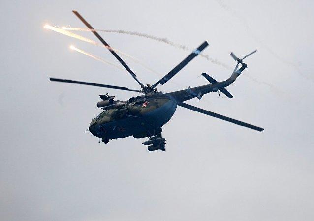一架米-8直升機在楚科奇自治區墜毀 機組人員全部遇難