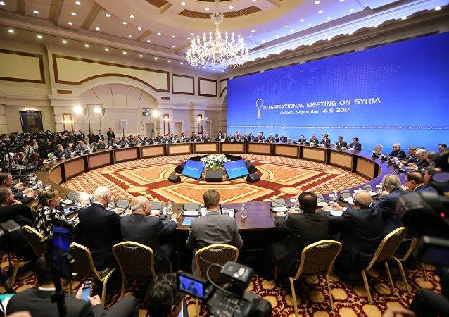 敘利亞問題阿斯塔納和談