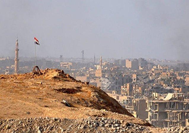 敘利亞停火協調中心:代爾祖爾市排雷結束
