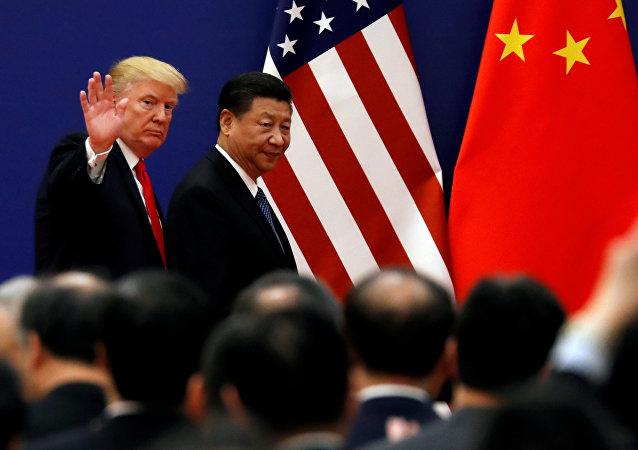 特朗普認為可以解決與中國的貿易爭端