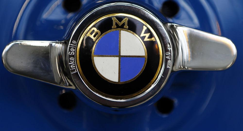 Логотип немецого автоконцерна BMW