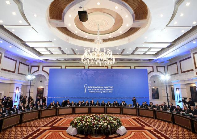 俄方對敘反對派代表團出席阿斯塔納會談表示歡迎