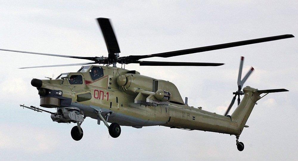 俄空天軍收編首批米-28UB新型直升機