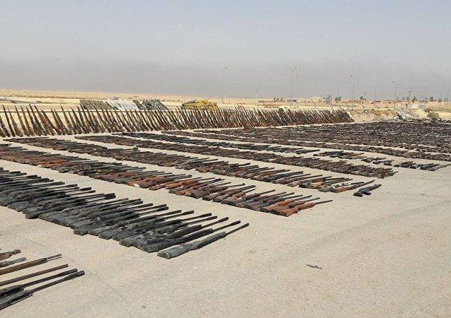 視頻:敘利亞軍隊奪取達伊沙組織的新武器倉庫
