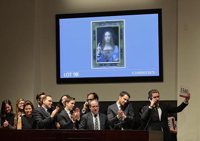 列奧納多•達•芬奇的畫作《救世主》