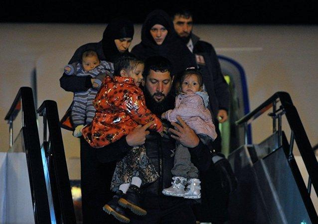 俄國防部:逾40名俄羅斯兒童於一個半月內從敘回國