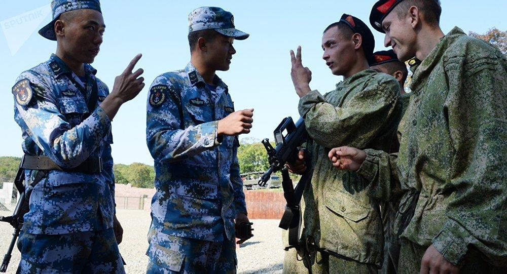俄中軍事演習