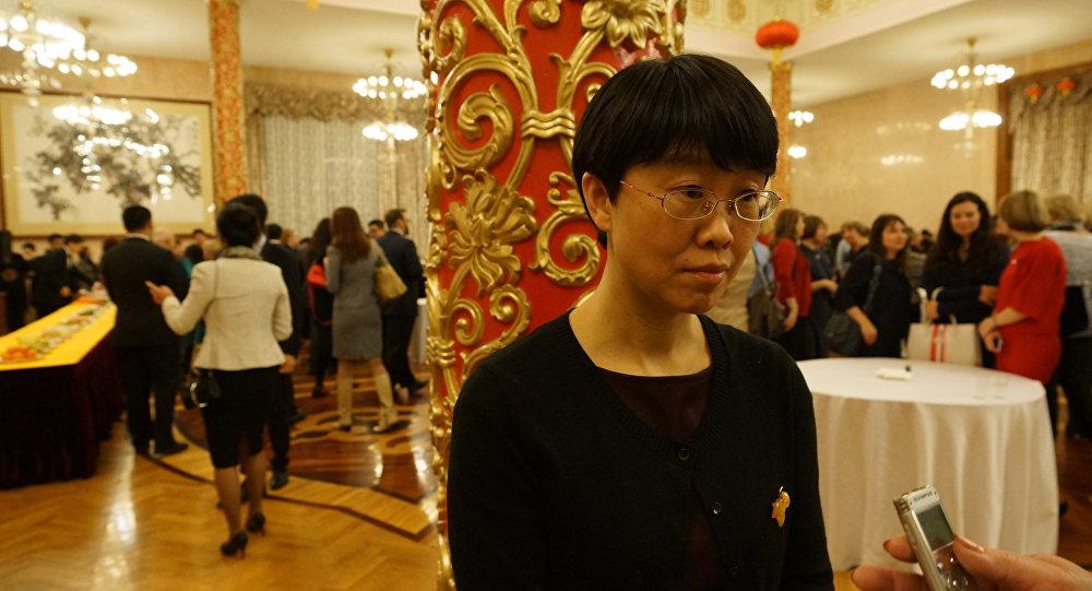 中國駐俄大使館文化參贊龔佳佳