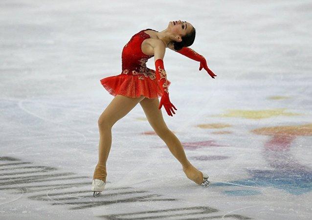花滑選手扎吉托娃刷新短節目世界紀錄