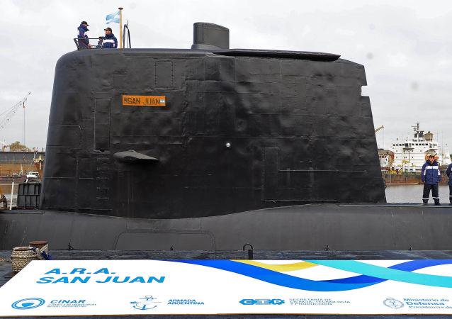 阿根廷海軍收到失聯「聖胡安「號潛艇信號