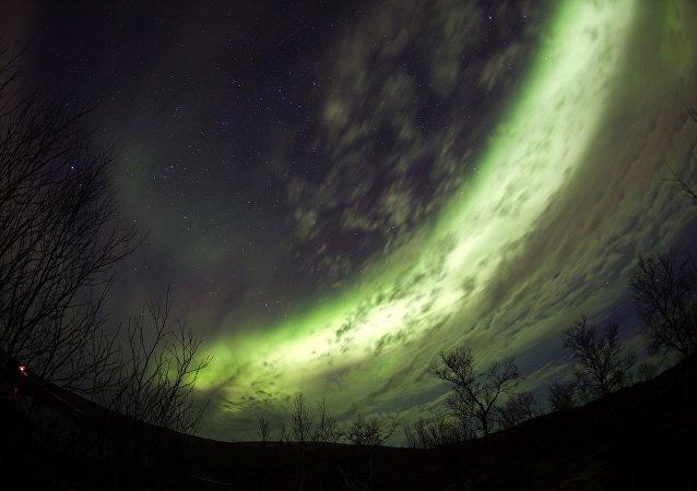 遊客來俄北極地區住透明牆冰屋看北極光