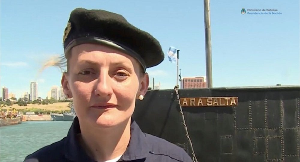 阿根廷失蹤潛艇上有一名女軍官