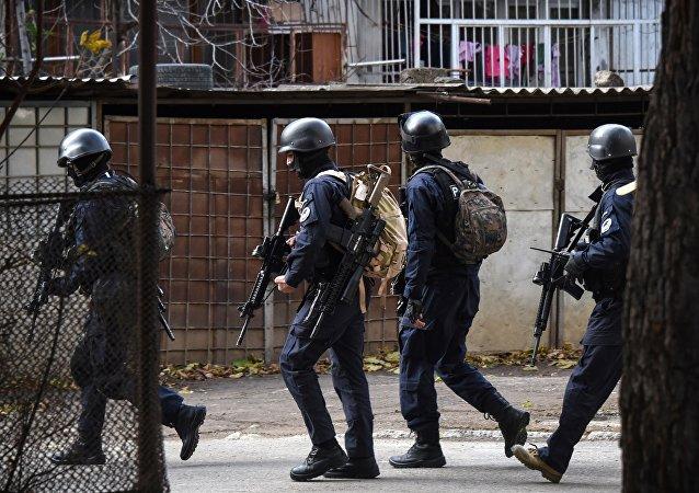 格魯吉亞首都郊區反恐行動