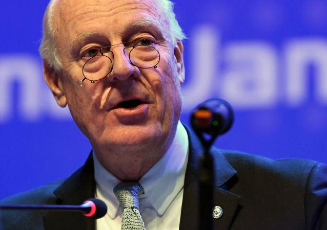 聯合國敘問題特使本週末將出訪莫斯科討論敘利亞局勢