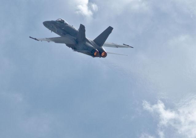 芬蘭空軍的「大黃蜂」(F/A-18 Hornet)戰鬥機