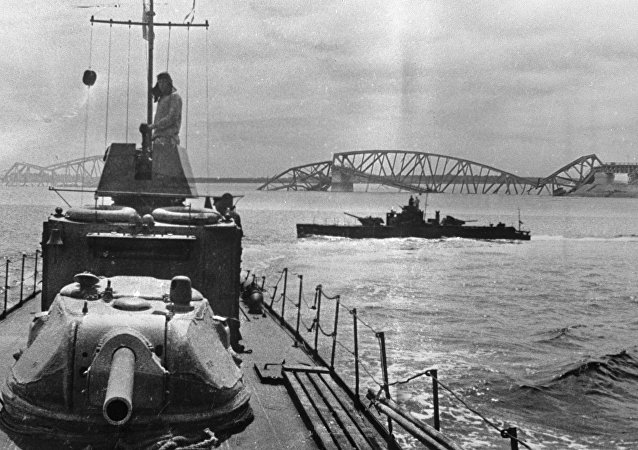 偉大衛國戰爭期間蘇聯的裝甲炮艇