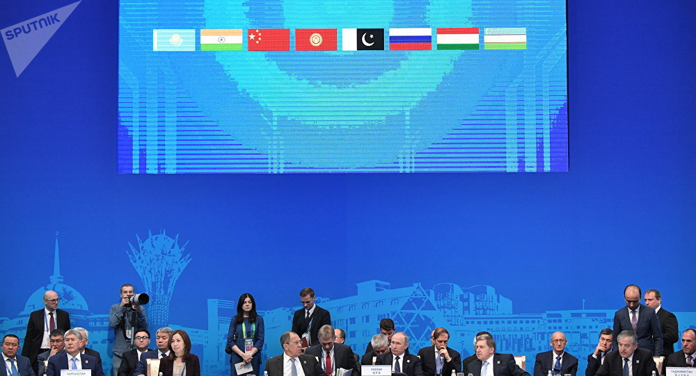 印度和巴基斯坦2017年6月正式加入上合組織