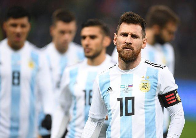 阿根廷隊長梅西