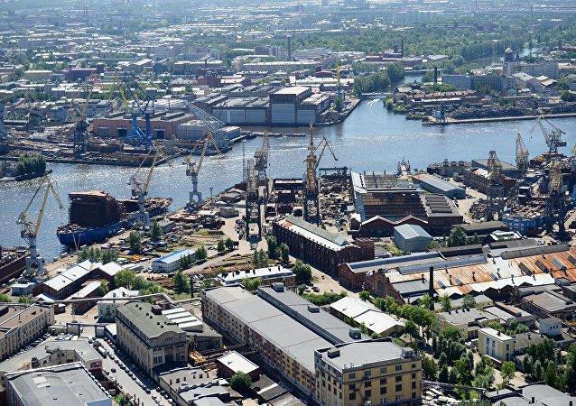 聖彼得堡港口