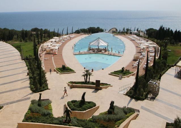 克里米亞的一家SPA酒店被評為歐洲和世界最佳家庭度假地