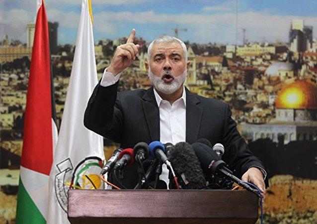 哈馬斯領導人不承認耶路撒冷為以色列首都 呼籲發起第三次起義