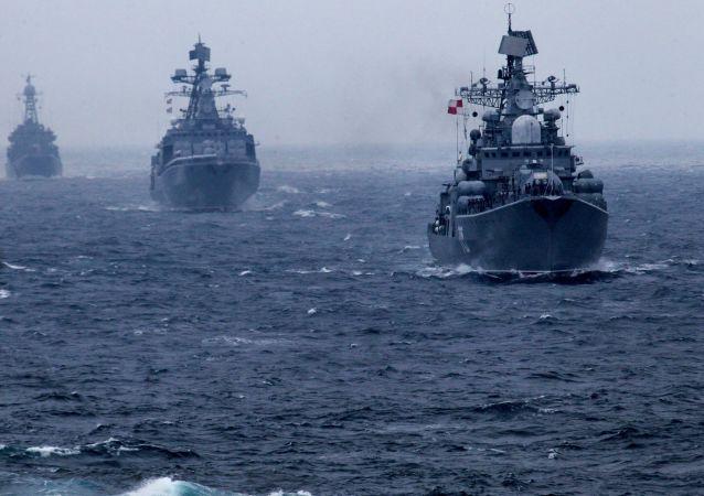 俄太平洋艦隊艦艇到訪越南