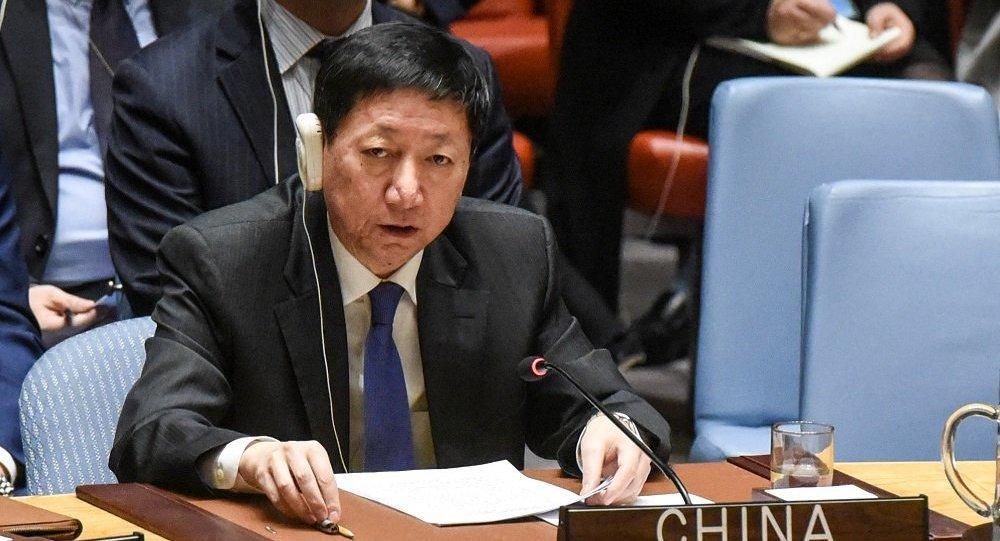 中國常駐聯合國副代表吳海濤