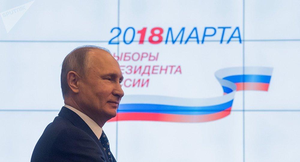 俄中選委:截至1月底普京競選活動已花費近130萬美元