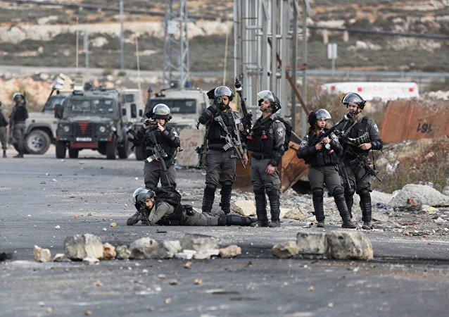 以軍在約旦河西岸同巴勒斯坦武裝分子交火