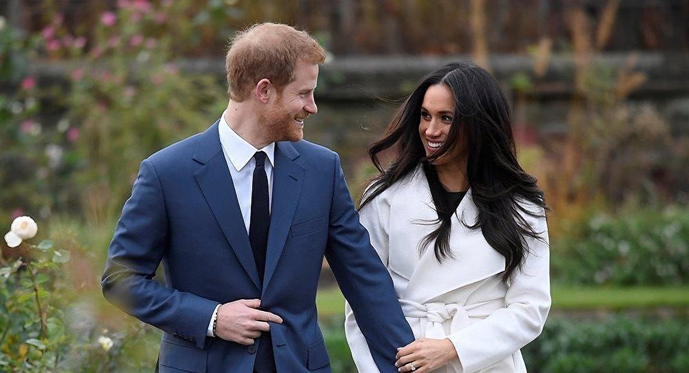 梅根·馬克爾與英國哈里王子