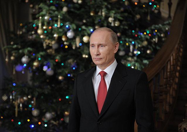 普京新年賀詞今年將是傳統性的