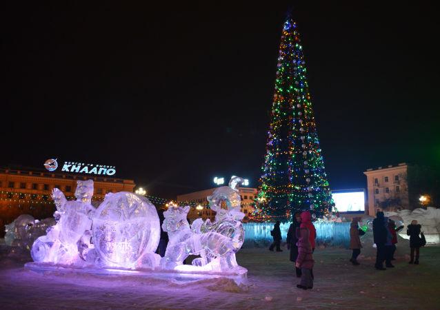 哈巴羅夫斯克聖誕樹
