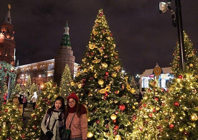 莫斯科「聖誕之旅」節日框架內將舉辦中文導遊旅遊活動