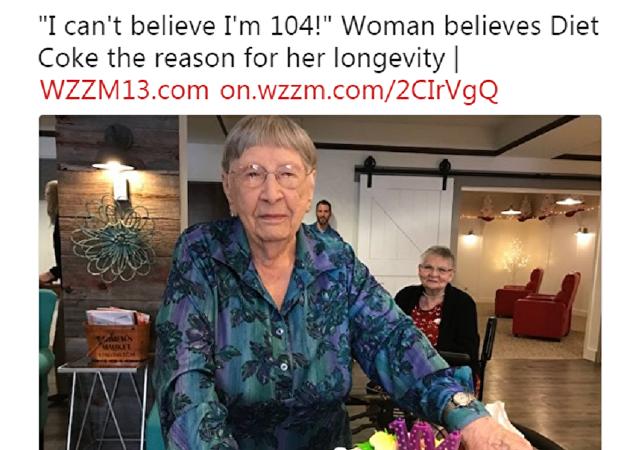 109歲的美國壽星:我每個週五喝葡萄酒