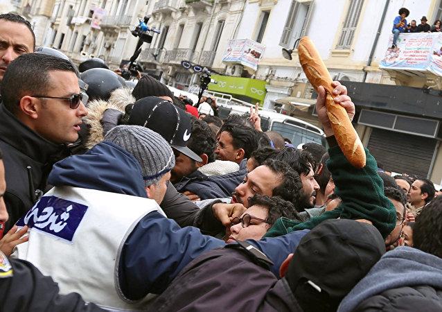 突尼斯反政府抗議