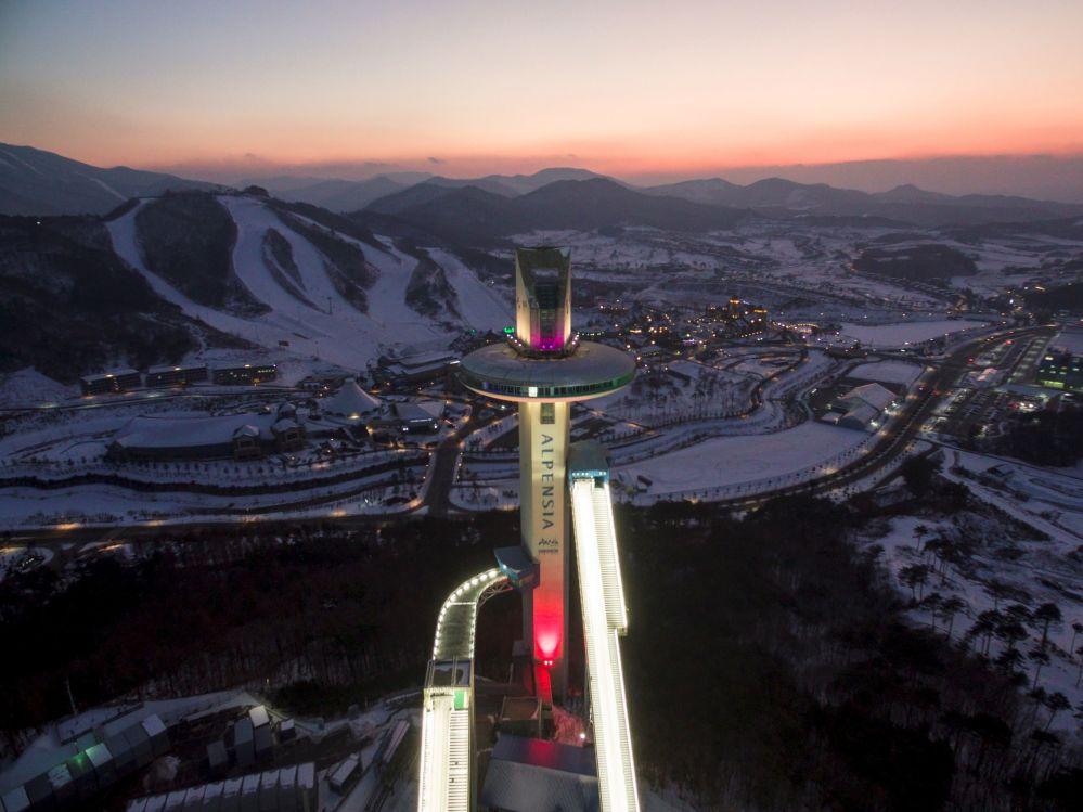 阿爾卑西亞跳台滑雪中心