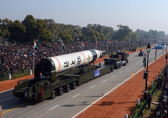 「烈火-5」型彈道導彈,印度
