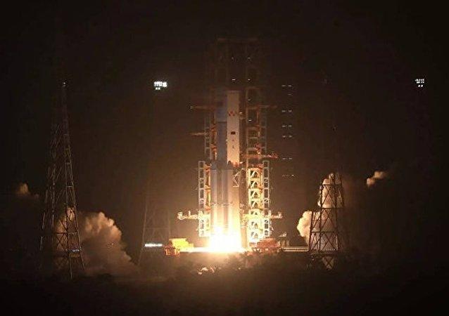 中國成功發射「吉林一號」寬幅01星 搭載發射3顆小衛星