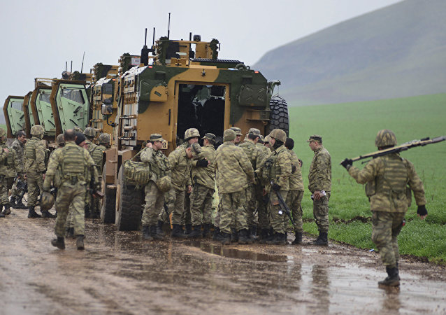 土耳其向敘利亞派遣增援部隊